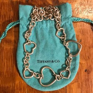 Tiffany's heart chain necklace